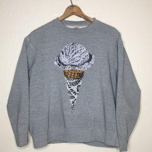 ICE CREAM By BBC Crew neck sweatshirt #57